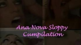 Anna Nova se mete la polla en el coño