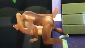 Los Sims 4: Sodomía en el vestuario