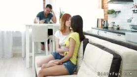 Semental follando en una oficina con Irina.