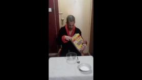 Desayuno a los años que se hacen arriba.