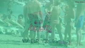 Fiesta en la playa.