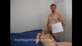Sueca madura seduce a su novio.