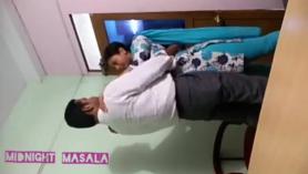 India adolescente saciada para lespro.