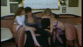 Sexo grupal a cuatro patas
