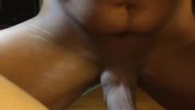 Follando a una amateur culona con coño asiático estrecho