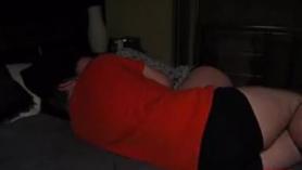 Morena follada en el sofá