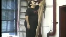 Ron Jeremy rodando el culo de la follada cinta porno