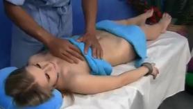 Masaje cañero es una dura penetracion anal y vaginal