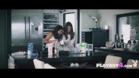 Lesbianas en la cocina xxx