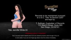 Jennifer White follada por varios hombres