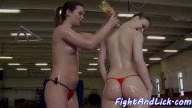 Lesbianas con bragas