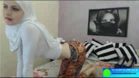 Sucio a la cama para su webcam
