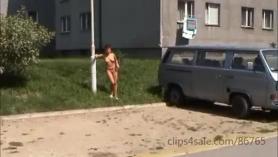 Follando en público