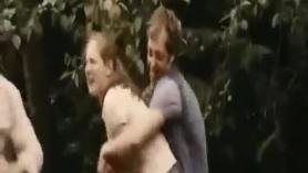 Primera escena de una hermana tetona