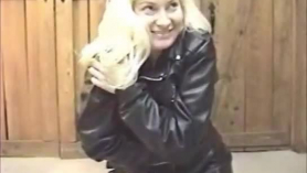 El culo de cuero de la estrella Olivia Ingersoll se juega