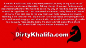 Mia khalifa con negros