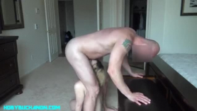 Abusada a la fuerza