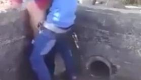 Abuelos follando con su nieta