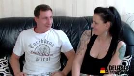 Sexy alemán maduro duo porno