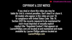 Lauren Phillips toma las prostitutas blancas la folla