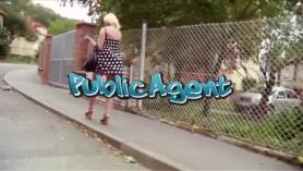 Agente público capturado y fantaseado por el casting.