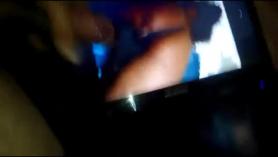 Una transexual negra y dos strippers bisexuales en la agencia de escort. Bareback con el jugo de lawt n brote.