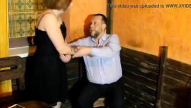 Día sucio en Argentina para el joven rubia caliente.