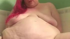 A la gorda le gusta todo sobre el sexo