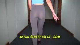 Tailandia chica no puede tomar polla