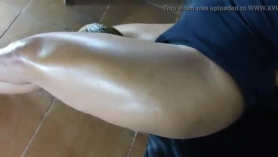Sexy gay strong gang buxom show