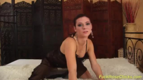 Czech babe is having gentle sex with a guy who is not her partner, in her bedroom