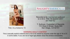 Busty brunette ava little forced to film part of her sperm draining sex adventure