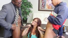 Syren de mer is rubbing her lover's dick and ready to ride it, like never before
