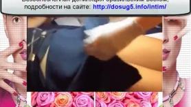 Chica de masaje con una polla en su coño la convierte en un bramido de tragar