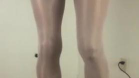 Tranny blanca gorda recibe su primer casting amateur con facial