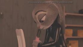Judy Jolie garganta profunda una carga