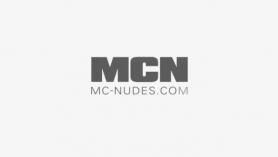 Two slim babes are sucking guys' hard dicks, while kneeling in front of dicksucking guy