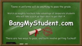 Estudiante en porno