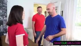 Hijas de Curley obtiene anal anal 1.2