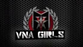 Chicas jóvenes en la webcam