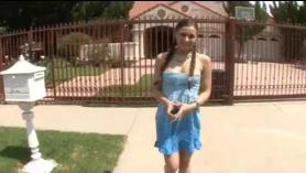 Linda adolescente fresca de la universidad follada por el ex Hadastrother