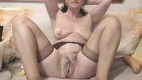 Maduras con masturbacion