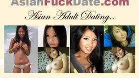 Chica china tímida con tetas pequeñas: 4on2 DP, Creampie & Vagina. Lavado después