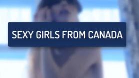Canadiense sumisa, Lilly Harlot anhela un duro tratamiento de gangbang anal de su dominatrix Mistress Bridgette B. en su culo lleno de semen