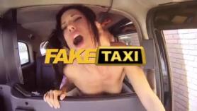 Bigass taxi negro vagin rociado