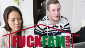 Fresh Talker Kalina Ryu es follada por el culo de Nikky Thorne