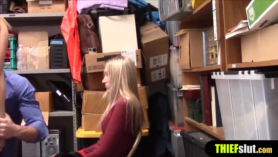 Tetona rubia ladrón de tiendas webcam show