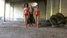 Trio calientes mujer