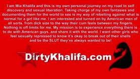 Mia khalifa trenes de pija