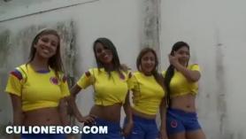 Chicas futbolistas desnudas y calientes tienen tetas perfectas